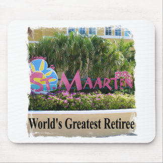 St. Maarten Sign Mouse Pad