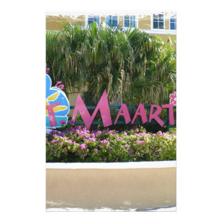 St. Maarten Sign Stationery