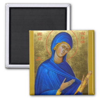St Macrina the Younger Orthodox Icon Magnet