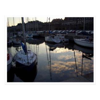 St Malo, Brittany, France Postcard