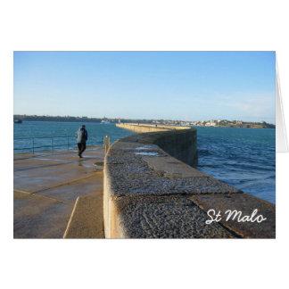 St Malo, France Card