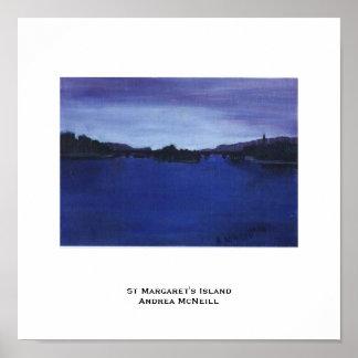 St Margaret's Island Poster
