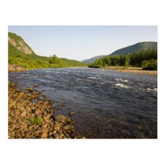 St. Marguerite river in Parc du Saguenay. Postcard