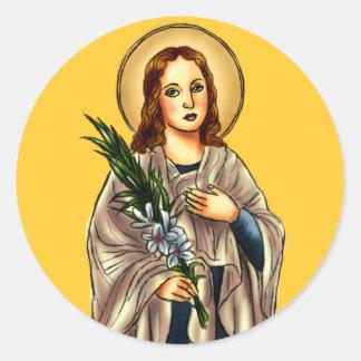 St. Maria Goretti Sticker
