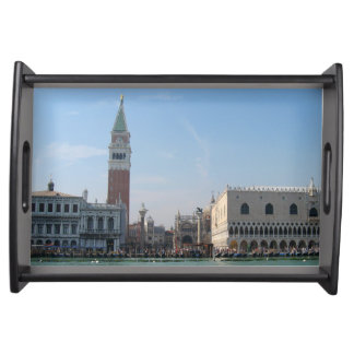 St. Mark's Square from the Grand Canal Serving Tray