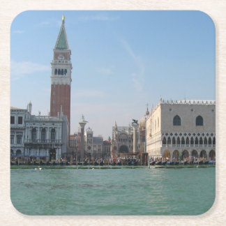 St. Mark's Square from the Grand Canal Square Paper Coaster