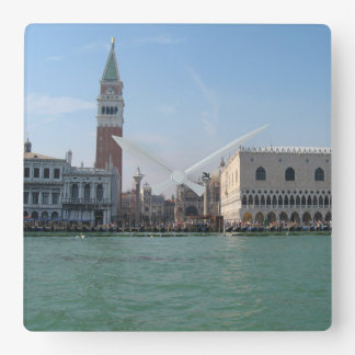 St. Mark's Square from the Grand Canal Square Wall Clock