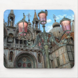 St. Marks and Lamp, Venice, Italy Mouse Pad