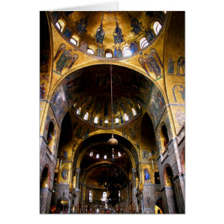 St Mark's Basilica Card