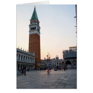St Mark's Campanile Card