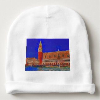 St Mark's Square Piazzetta painting Baby Beanie