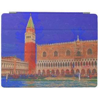 St Mark's Square Piazzetta painting iPad Cover