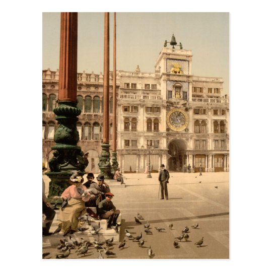 St Marks Venice Italy Postcard