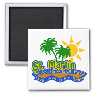 St. Martin State of Mind magnet