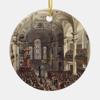 St Martins in the Fields, from 'Ackermann's Microc Ceramic Ornament
