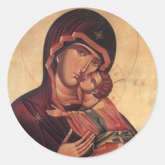 St.Mary and Jesus  Sticker