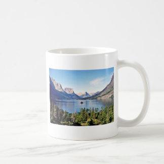 St. Mary Lake - Glacier National Park Coffee Mug