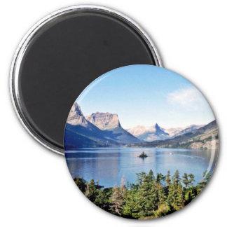 St. Mary Lake - Glacier National Park Magnet