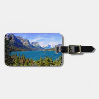 St. Mary Lake,  Glacier National Park,  Montana Luggage Tag