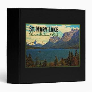 St. Mary Lake Glacier NP Binders