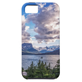 St. Mary Lake Sunset Case For The iPhone 5