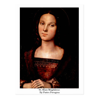 St. Mary Magdalene By Pietro Perugino Postcard