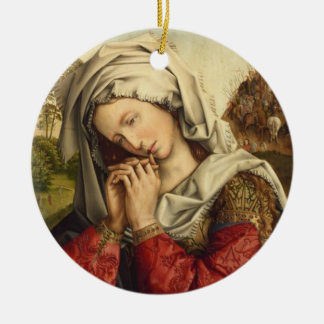 St. Mary Magdalene Feast Day July 22 Ceramic Ornament
