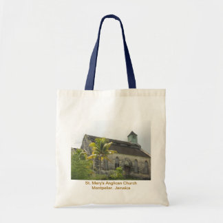 St. Mary's Anglican Church, Montpelier, Jamaica Ba Tote Bag