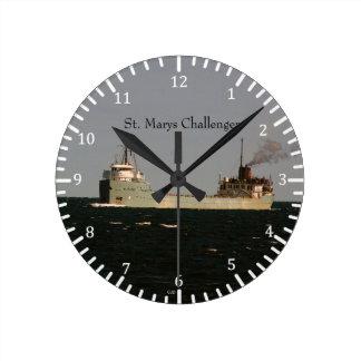 St. Marys Challenger clock