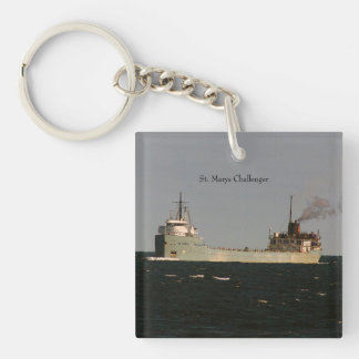 St. Marys Challenger key chain