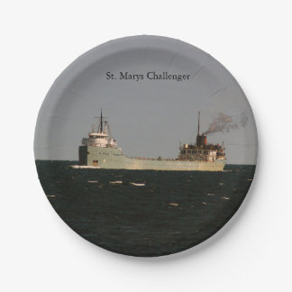 St. Marys Challenger paper plate
