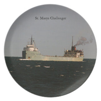 St. Marys Challenger plate
