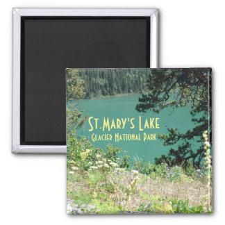 St. Mary's Lake Glacier National Park Magnet
