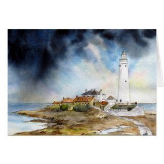 St. Mary's Lighthouse Card