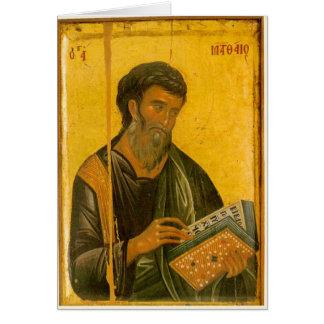 St Matthew Card