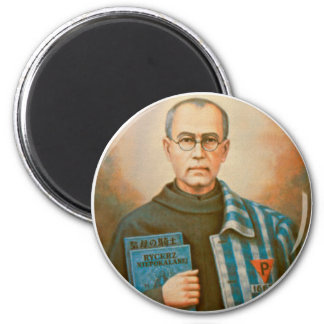 St. Maximilian Kolbe Feast Day August 14 Magnet