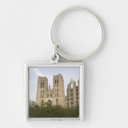 St. Michael and St. Gudula Cathedral, Brussels Key Chain