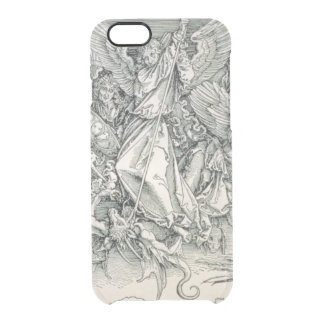 St. Michael Battling with the Dragon Clear iPhone 6/6S Case