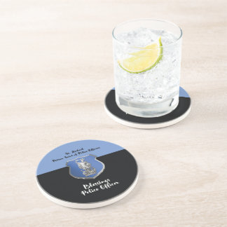 St. Michael Blessings to New Police Officer Coaster