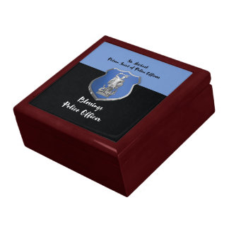 St. Michael Blessings to New Police Officer Gift Box