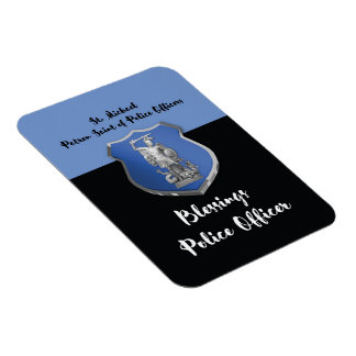 St. Michael Blessings to New Police Officer Magnet