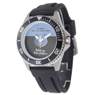 St. Michael Blessings to New Police Officer Watch