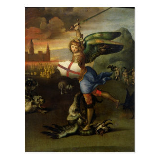 St. Michael, c.1503-05 Postcard