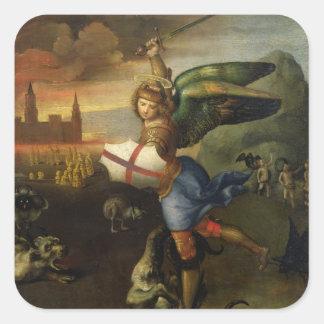 St. Michael, c.1503-05 Square Sticker