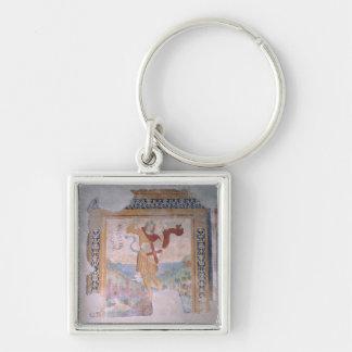 St. Michael (fresco) Key Chain
