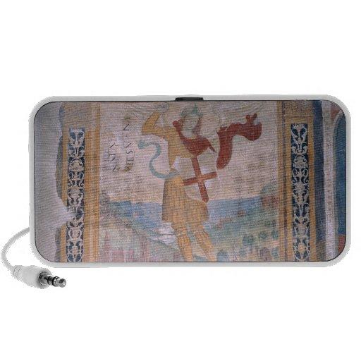 St Michael (fresque) Haut-parleurs iPhone