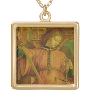 St. Michael Gold Plated Necklace