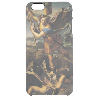 St. Michael Overwhelming the Demon, 1518 Clear iPhone 6 Plus Case