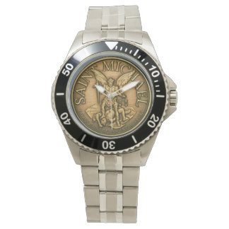 St MICHAEL PATRON SAINT WATCH