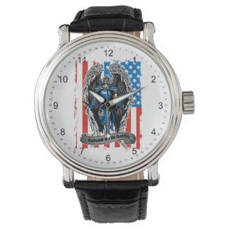 St. Michael Police Defend Us in Battle Wristwatches